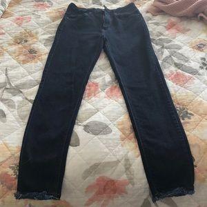 Just Black Denim high rise skinny jeans